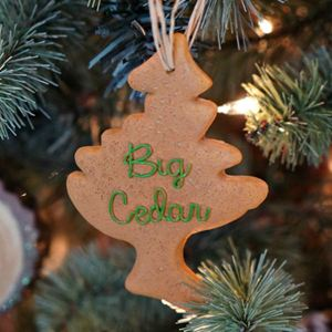Picture of Big Cedar Cookie Tree Ornament